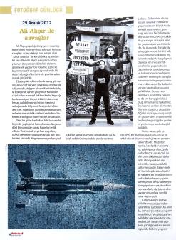 Fotoğraf Dergisi 2013