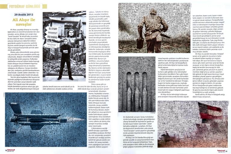Fotoğraf Dergisi 2013m